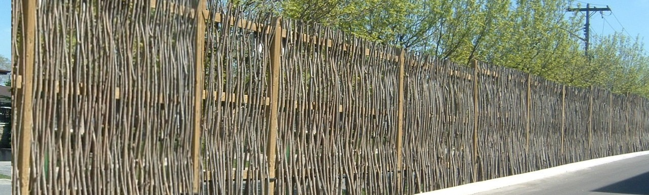 The living wall for Living screen fence